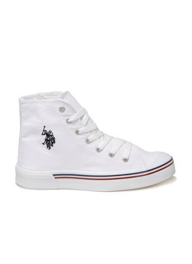 U.S. Polo Assn. Kadın Ayakkabı Penelope High 100910633 Beyaz